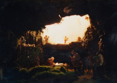 El Portal de Belén en 1989.