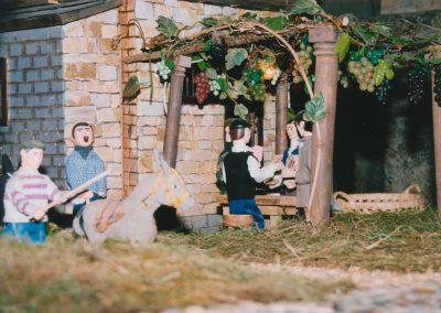 Arreando el burro en el 2000.