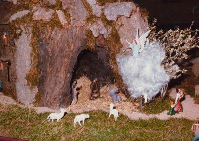 La cueva de los pastores en 1985.