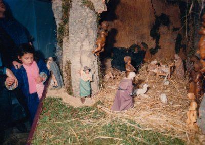 El portal de belén en 1988.