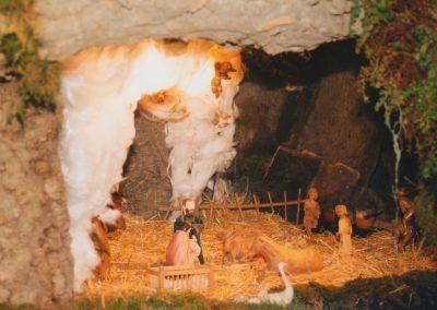 El portal de Belén en 1991.