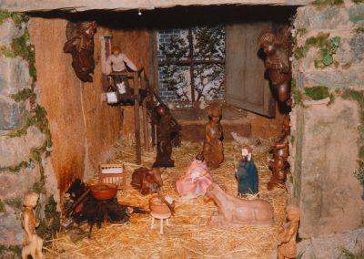 El portal de belén en 1992.