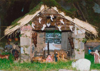 El portal de belén en 1993.