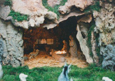 El portal de belén en 1998.