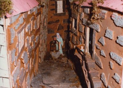 El pozo de agua en 1985.