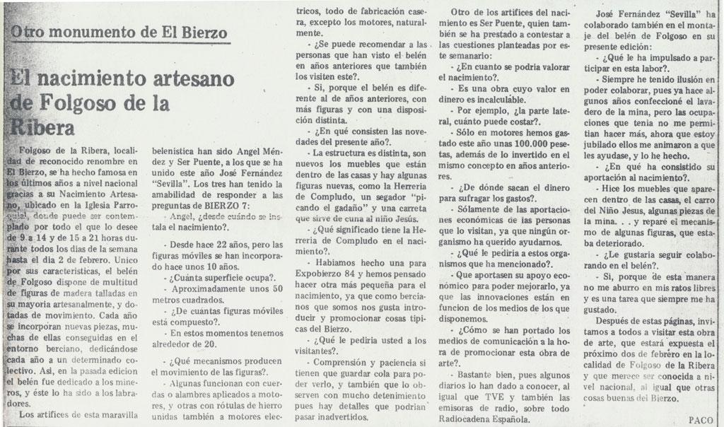 Entrevista Bierzo 7.