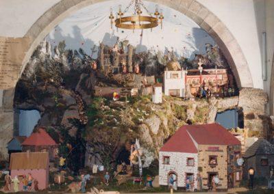 Vista principal del belén en 1986.