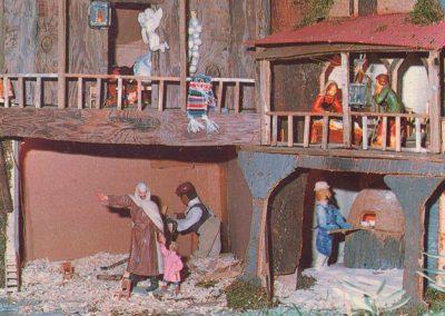 El panadero y el carpintero en 1984.