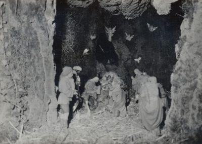 El portal de Belén en 1983.