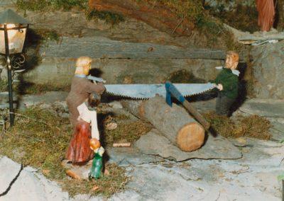 Los serradores en 1983.