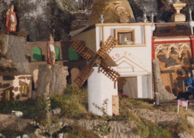 El molino de viento en 1986.