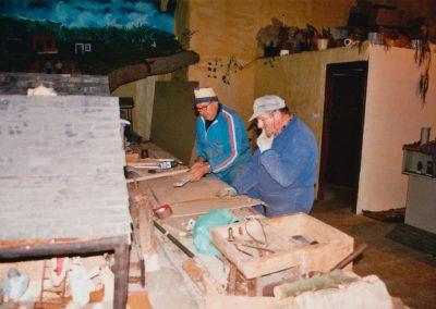 Gelo y Teodoro en 2003.