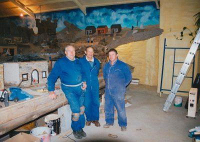 Gelo, Ser y Teodoro en 2002.
