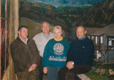 Teodoro, Gelo, Marina y Ser en 2002.