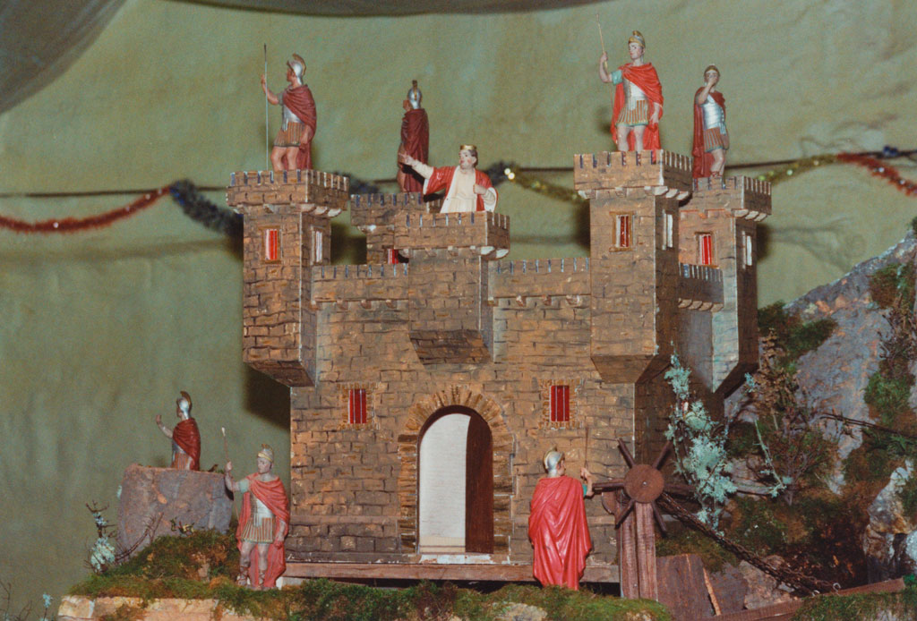 El castillo de Herodes con su guardia.