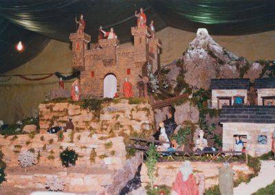 El castillo de Herodes con su puente levadizo en 2001.