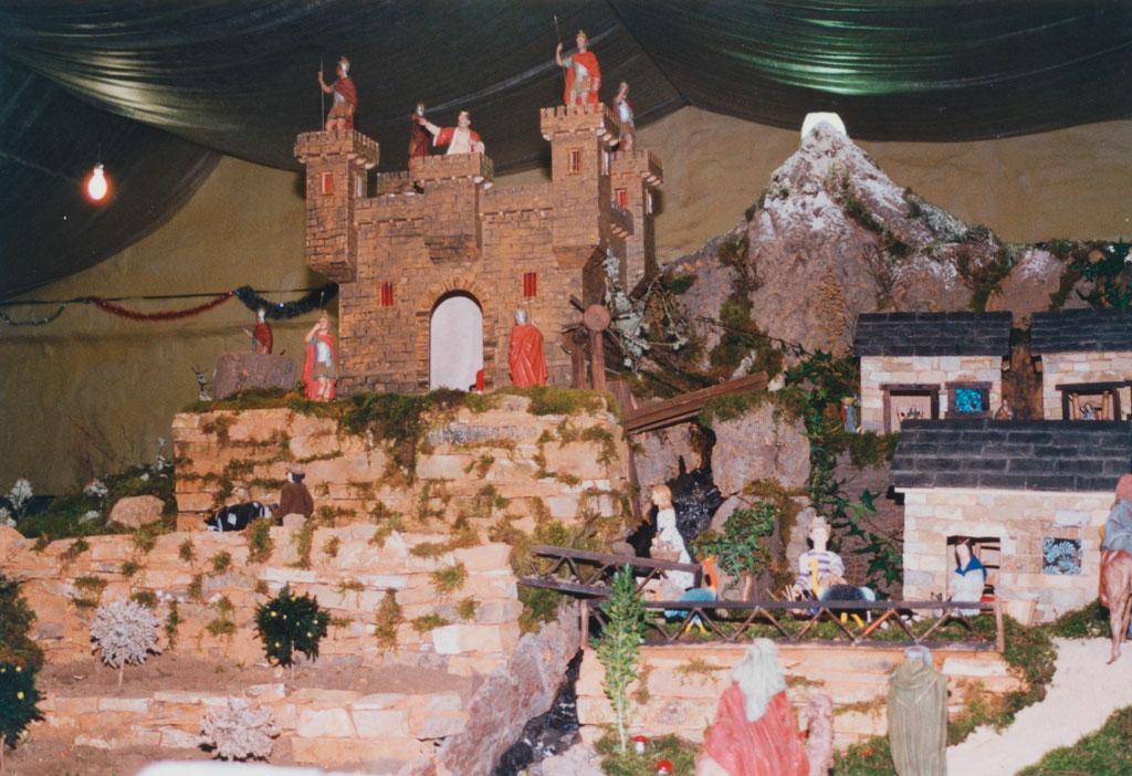 En lo alto el castillo de Herodes.