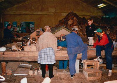 En construcción en 2004.