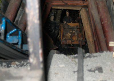 Inerior de la mina en 2005.