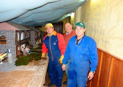 Pepe, Tomás y Benigno en 2007.