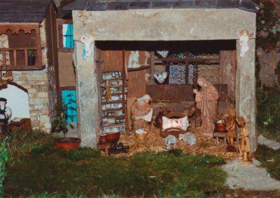Portal de belén en 2001.