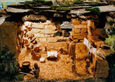 El portal de belén en 2003.