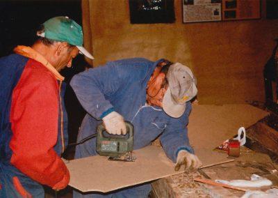 Ser y Teodoro en 2003.