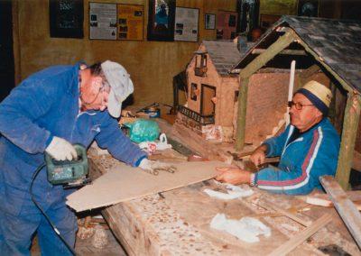 Teodoro y Gelo en 2002.