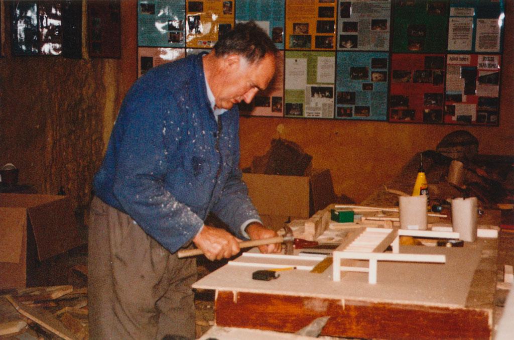 Tomás en 2002.