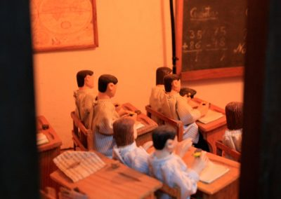 Niños en la escuela en 2019.