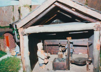 El herrero en 1994.